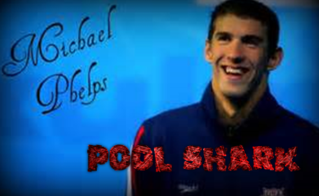 The Pool Shark-Michael Phelps