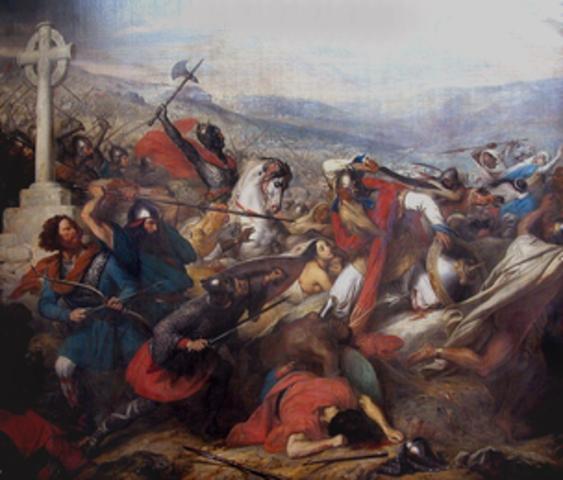 The Moors Invade Spain