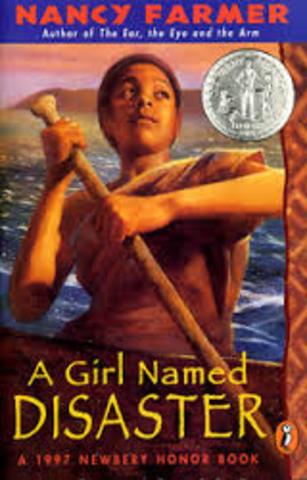 A Girl Named Disaster Author: Farmer Nancy