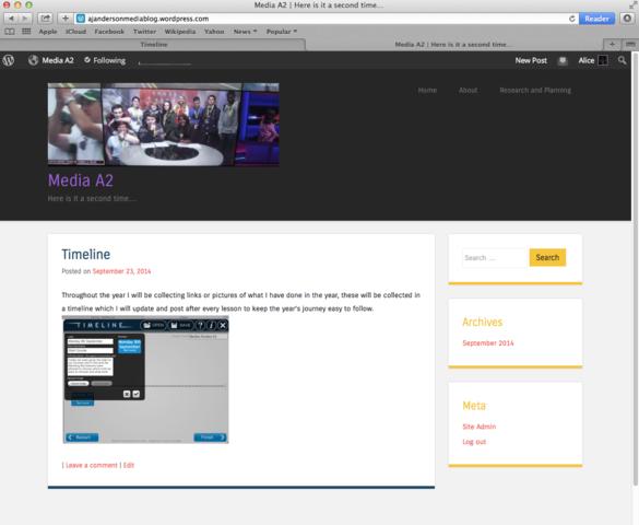 New Blog Created