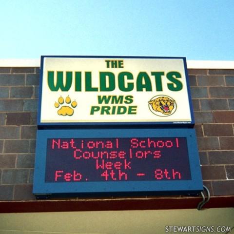 Empecé Middle School en 2010.