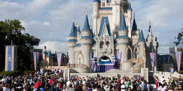 Viajé a Disney World en 2007.