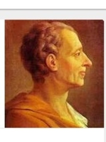Montesquieu's Influence on the Constitution