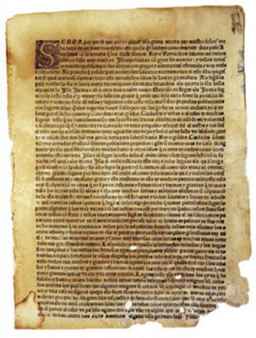 Barcelona Letter