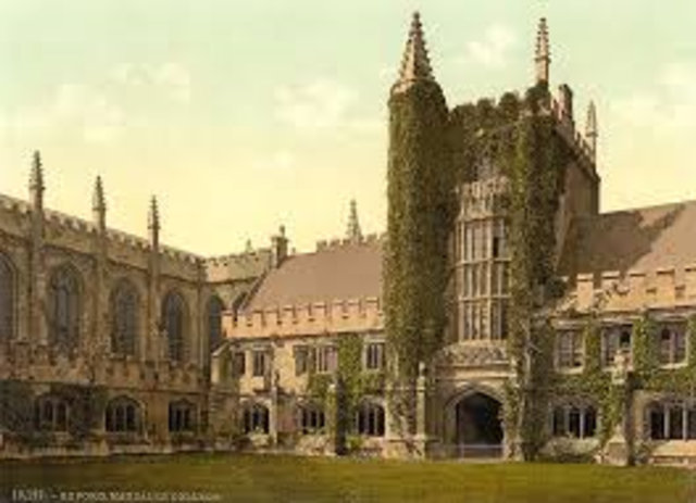 Fellow of Magdalen College, Oxford