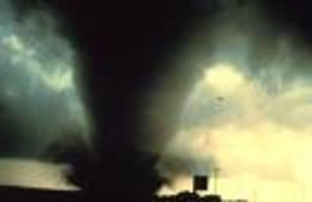 Tornado obliterates Waco.