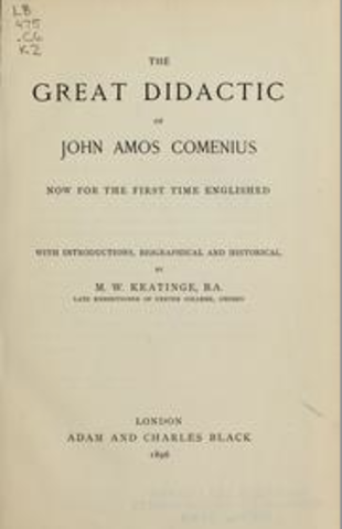 Great Didactic by John Amos Comenius
