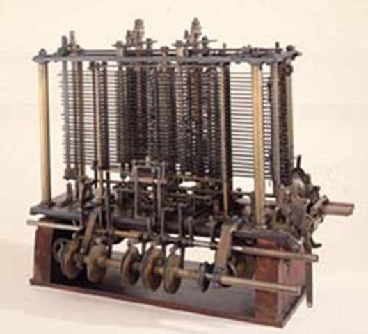 Era mecánica(máquina analítica)