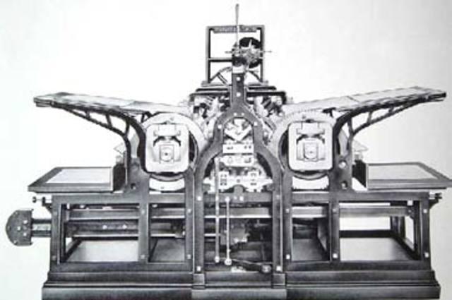 Steam Powered Printing Press