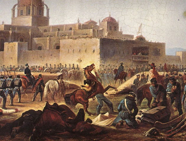 Mexican civil war starts