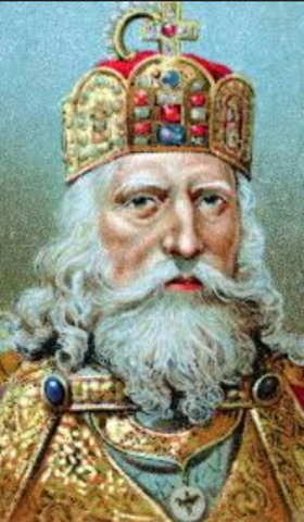 Carlomagno es coronado emperador