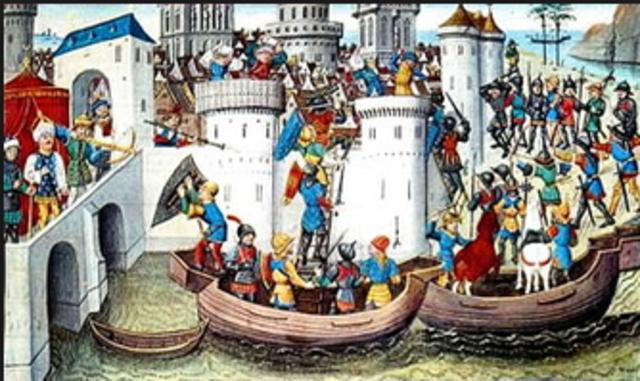 Consqista de Constantinopla