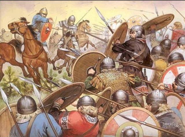 Invasión germánica en España