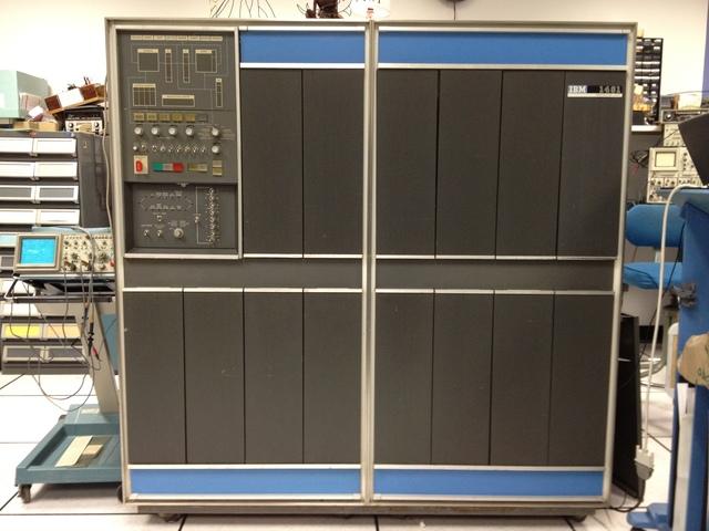 Era electrónica(IBM1401)