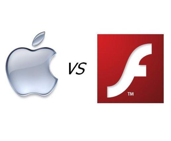 Apple Inc. declines to support Adobe Flash on their mobile products in favor of open standards.