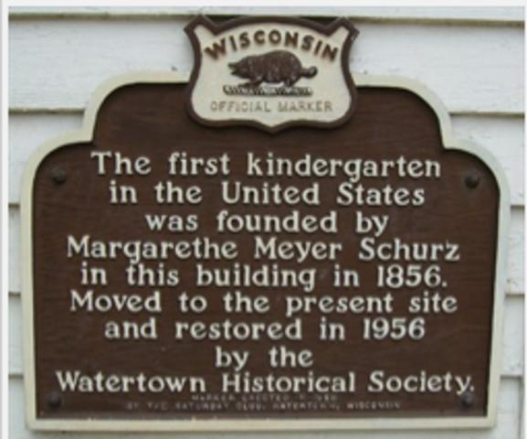 1st U.S. Kindergarten