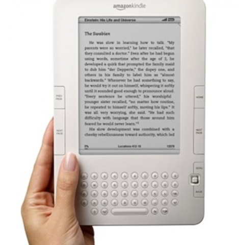 Release of Amazon's Kindle-ereader competition and increase in ebook production