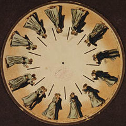 Se inventa el Fenaquistiscopio