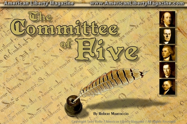 Committee of Five Appointed/Dec of Independence