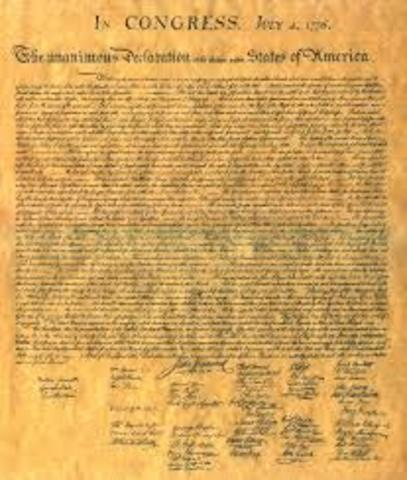 Declaration of Indipendence