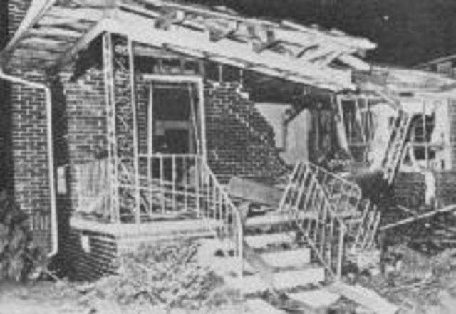 Martin Luther King Jr.'s House Bombed