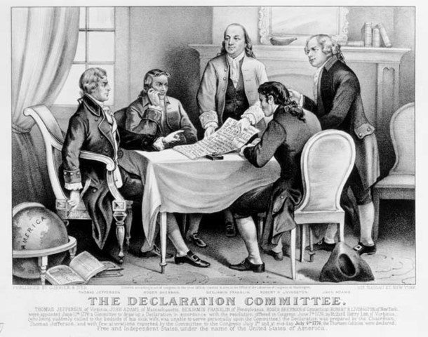 Declaration of Independence is written by Thomas Jefferson