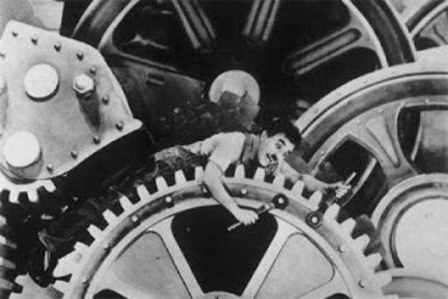 Tiempos modernos (Modern Times) (Charles Chaplin)