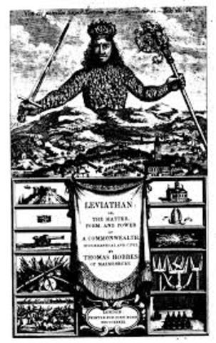 Publication of Thomas Hobbes book, Leviathan