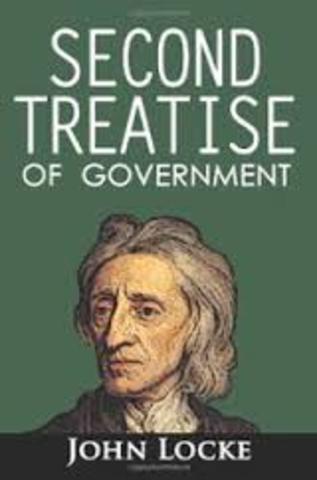 Publication of John Locke's Second Treatise Concerning Civil Goverment