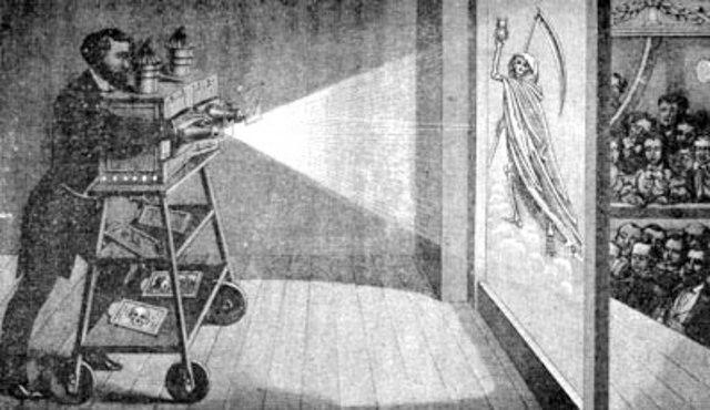 Invención del fantascopio