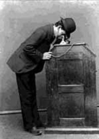 Invención del cinetoscopio