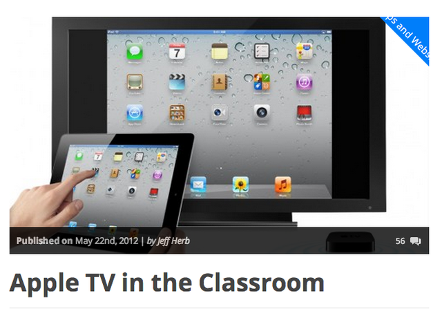 Apple TV launches