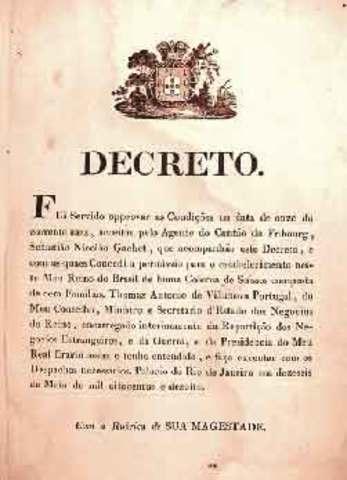 1º regulación específica a través de un decreto.