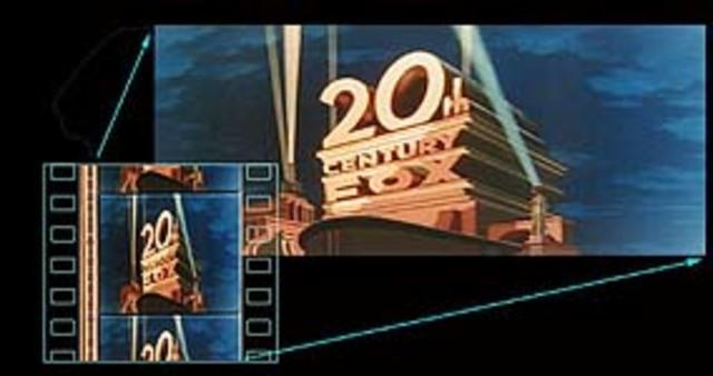 Primera película en Cinemascope