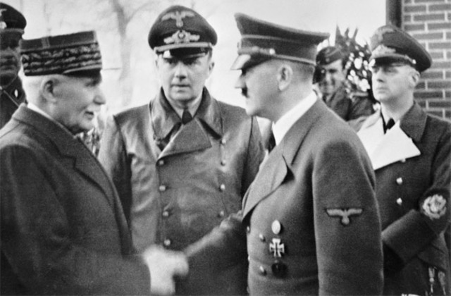 France signs Armistice with Germany