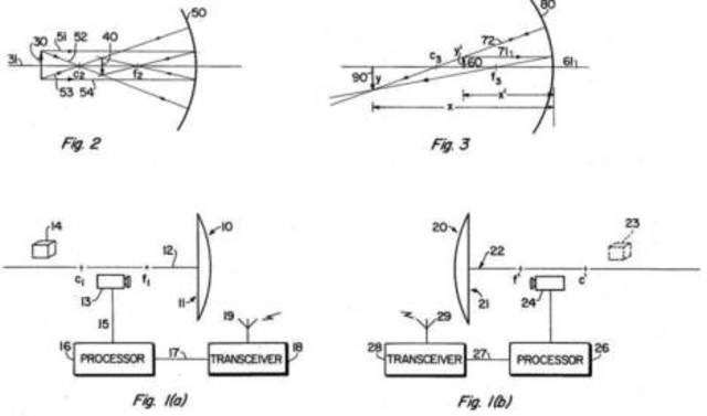 Illusion Transmitter is patented by Valerie L. Thomas