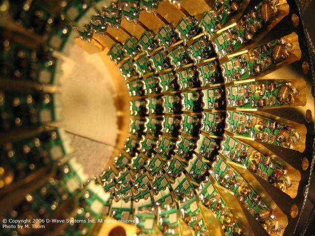 Prototipo de computador cuántico