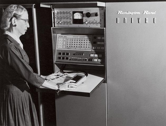 """Grace Hopper coins the term 'debugging"""""""