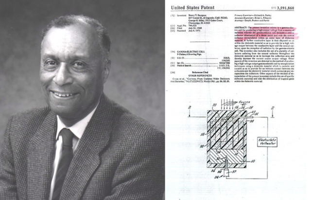 Gamma-Electric Cell patented by Henry T. Sampson