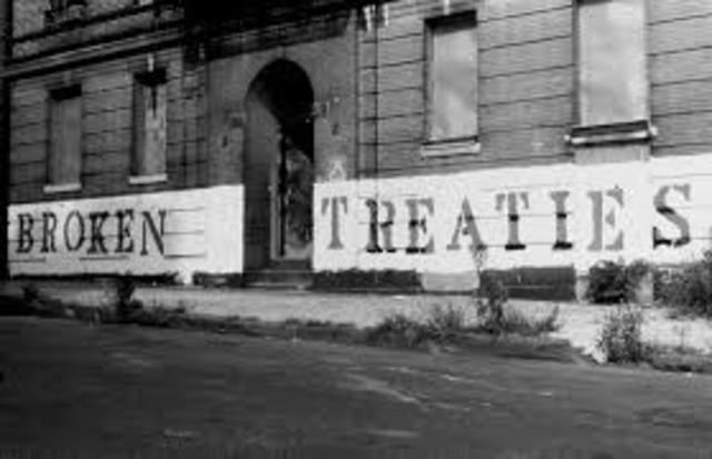 The Trail of Broken Treaties