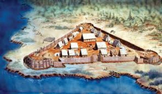 Jamestown, colony in Verginia, founded