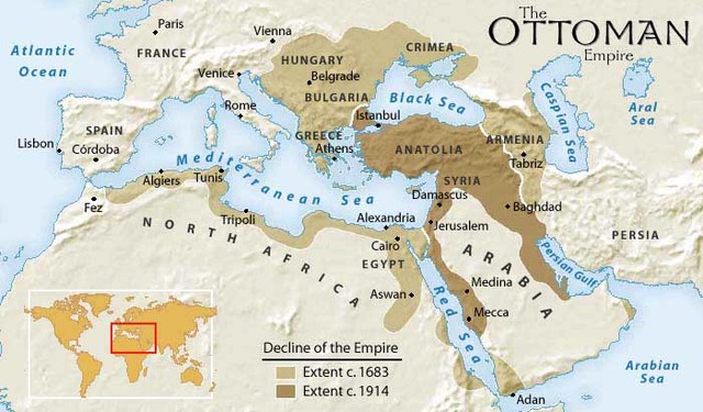Ottomons conquer Constantinople