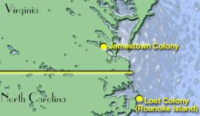 Jamestown colony in virgina founded