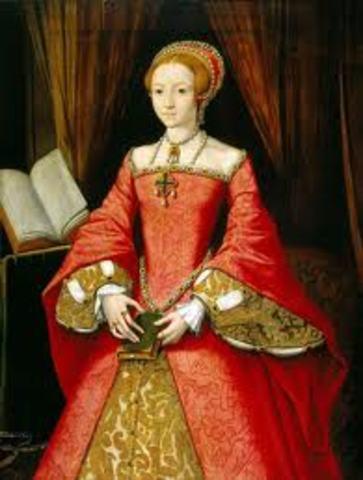 Elizabeth becomes Queen of England
