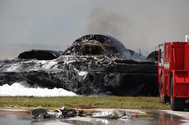 B-2 Spirit Bomber Crashed