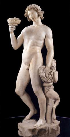 Michelangelo moves to Rome