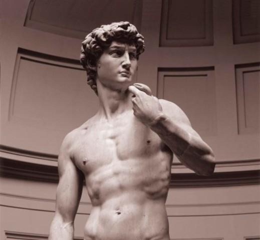 Michelangelo makes David