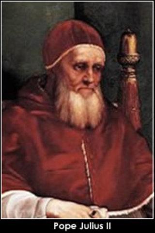 Pope Julius II invites Michelangelo to Rome