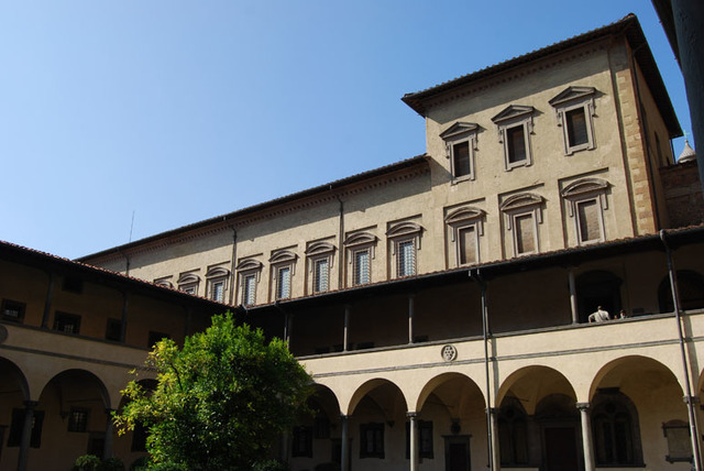 Michelangelo was the architect for the Laurentian Library