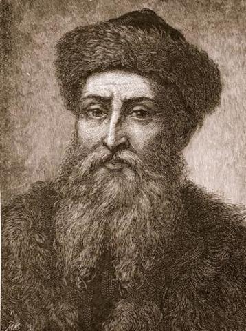 Johannes Gutenberg-Printing press